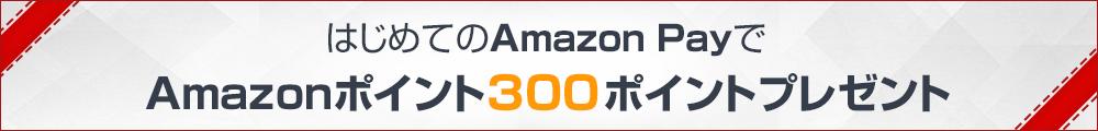 Amazonポイント300ポイントプレゼント